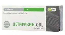Цетиризин-OBL,