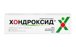 Хондроксид мазь, 5%, мазь для наружного применения, 30 г, 1 шт.