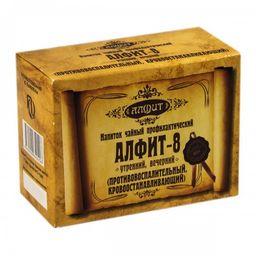 Алфит-8 фитосбор фитосбор противовоспалительный, кровоостанавливающий, 2 г, брикеты, утренний, вечерний, 60шт.