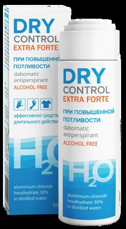 Dry Control Extra Forte дабоматик антиперспирант без спирта 30%, без спирта, 50 мл, 1 шт.