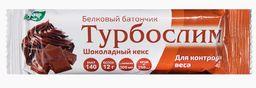 Турбослим батончик для похудения Шоколадный кекс, батончик, 50 г, 1 шт.