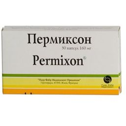 Пермиксон, 160 мг, капсулы, 30шт.