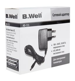 Адаптер для электронных тонометров B.Well AD-155, 1 шт.
