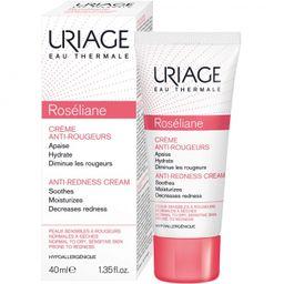 Uriage Roseliane Крем против покраснений, крем для лица, 40 мл, 1шт.