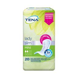 Прокладки урологические Tena Lady Slim Mini, прокладки гигиенические, 20 шт.
