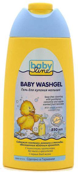 Babyline гель для купания, гель для детей, 250 мл, 1 шт.