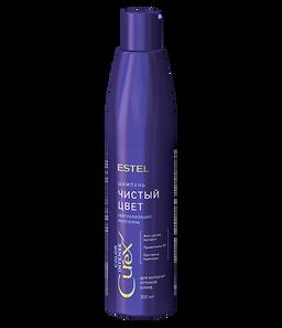 Estel Curex Color Intense шампунь Чистый цвет для холодных оттенков блонд