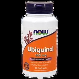 NOW Ubiquinol, 100 мг, капсулы, 60шт.