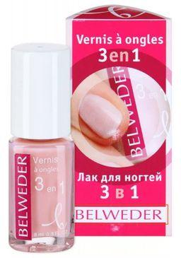 Belweder Лак  для ногтей 3 в 1