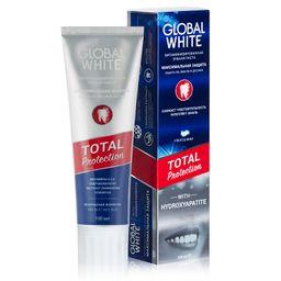Global White Total Protection Зубная паста Максимальная защита, паста зубная, витаминизированная, 100 мл, 1 шт.