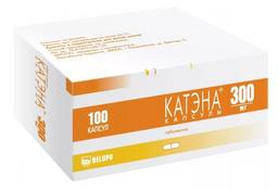 Катэна, 300 мг, капсулы, 100шт.