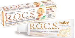 ROCS Baby Зубная паста Нежный уход с экстрактом айвы, без фтора, паста зубная, 45 г, 1 шт.