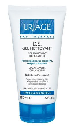 Uriage D.S. очищающий гель, гель косметический, 150 мл, 1шт.