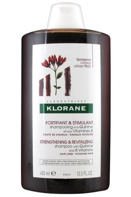 Klorane Шампунь с экстрактом хинина и витаминами B, шампунь, 400 мл, 1 шт.