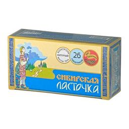 """Чай """"Сибирская ласточка"""", 1.5 г, фиточай, 26 шт."""