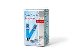 Тест-полоски EasyTouch на холестерин, тест-полоска, 10 шт.