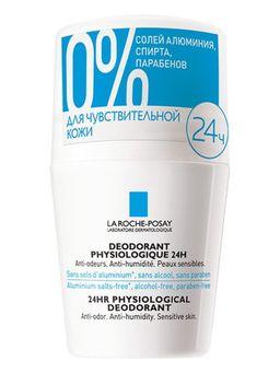 La Roche-Posay роликовый дезодорант 24 ч защиты, 50 мл, 1 шт.
