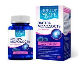 Доктор Море Экстра Молодость, 0.5 г, капсулы, 40 шт.