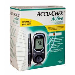 Глюкометр Accu-Chek Active, с принадлежностями, 1шт.