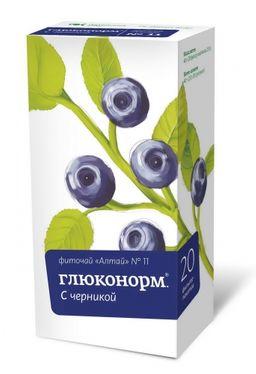 Фиточай Алтай №11 Глюконорм, фиточай, 2 г, 20 шт.