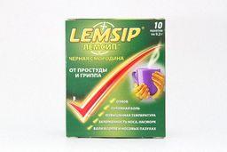 Лемсип Черная Смородина, порошок для приготовления раствора для приема внутрь, черносмородиновые, 5.2 г, 10шт.