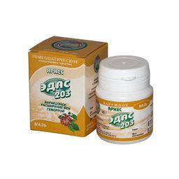 Эдас-203 Арнес, мазь для наружного применения гомеопатическая, 25 г, 1 шт.