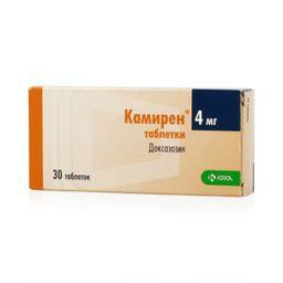 Камирен, 4 мг, таблетки, 30шт.