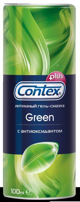 Гель-смазка Contex Green, гель, антибактериальное, 100 мл, 1 шт.