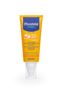 Mustela Sun Солнцезащитное молочко для детей SPF-50+