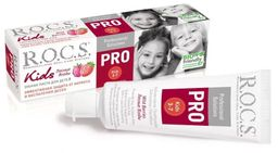ROCS PRO Kids Зубная паста Лесные ягоды, без фтора, паста зубная, 45 г, 1 шт.