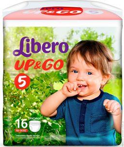 Подгузники-трусики детские Libero Up&Go