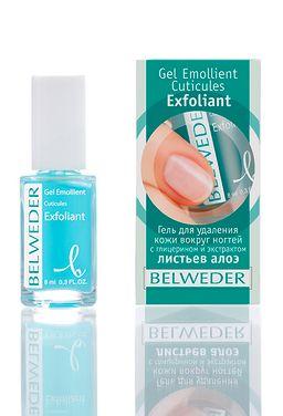 Belweder Гель для удаления кутикулы с глицерином и экстрактом листьев алоэ, гель, 8 мл, 1 шт.