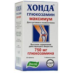 Хонда Глюкозамин, 1.3 г, таблетки, 30 шт.