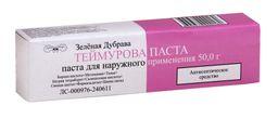 Теймурова паста, паста для наружного применения, 50 г, 1 шт.