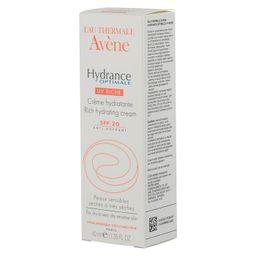 Avene Hydrance Optimale Riche UV20 крем увлажняющий для сухой кожи, крем для лица, 40 мл, 1шт.