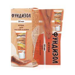 Фундизол крем для ногтей и кожи, крем, 30 мл, 1 шт.