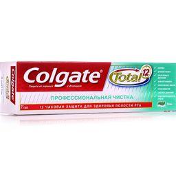 Colgate Total 12 Профессиональная чистка зубная паста