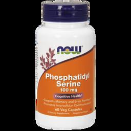 NOW Phosphatidyl Serine, 100 мг, капсулы, 60шт.
