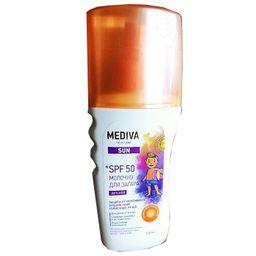 Mediva Sun Молочко для загара детское spf-50, молочко для тела, 150 мл, 1 шт.