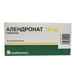 Алендрокерн, 70 мг, таблетки, 4 шт.