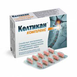 Келтикан комплекс, 205 мг, капсулы, 20 шт.