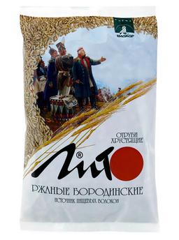 Лито Отруби хрустящие ржаные бородинские, гранулы, 200 г, 1 шт.