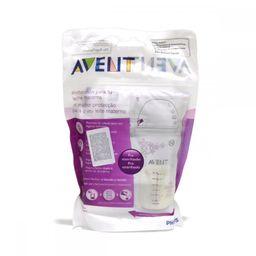 Avent Пакеты для сбора и хранения грудного молока, (80250) SCF603/25, 180 мл, 25шт.