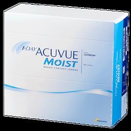 1-Day Acuvue Moist Линзы контактные Однодневные, BC=8,5 d=14,2, D(-2.25), стерильно, 180 шт.