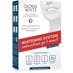 Global White Система для отбеливания зубов, набор, 1шт.