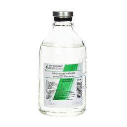 Реополиглюкин, 10%, раствор для инфузий, 400 мл, 15 шт.
