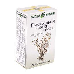 Пастушьей сумки трава, сырье растительное-порошок, 1.5 г, 20 шт.