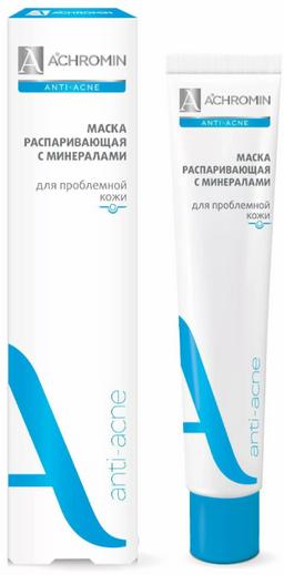 Achromin Маска для лица распаривающая анти-акне, маска для лица, 75 мл, 1 шт.