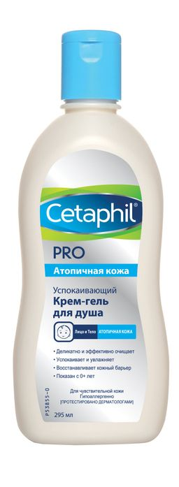 Cetaphil PRO Крем-гель для душа успокаивающий, 295 мл, 1 шт.