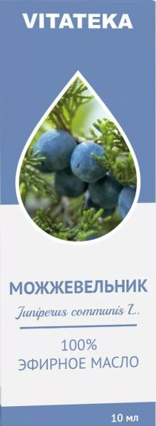 Витатека Масло Можжевеловое эфирное, масло эфирное, 10 мл, 1 шт.